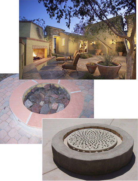 Fireplaces/Pit